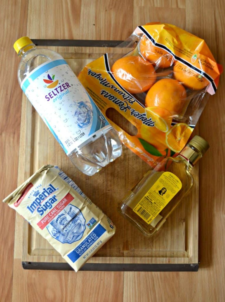 Everything you need to make a delicious Meyer Lemon Margarita