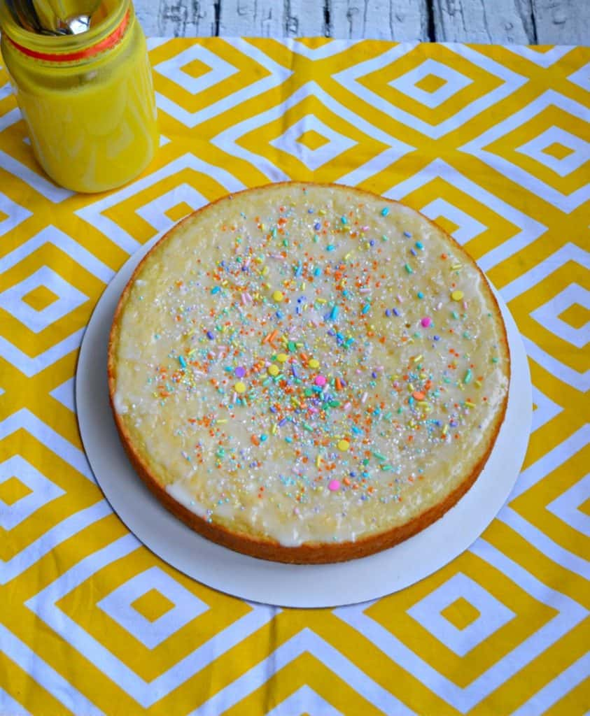Brighten up your Easter table with this Lemon Yogurt Cake