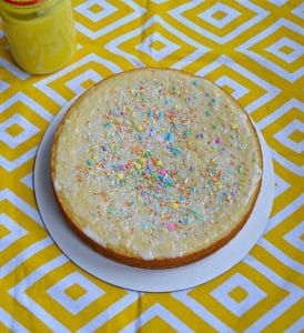 Lemon Vanilla Yogurt Cake #EasterBrunchWeek