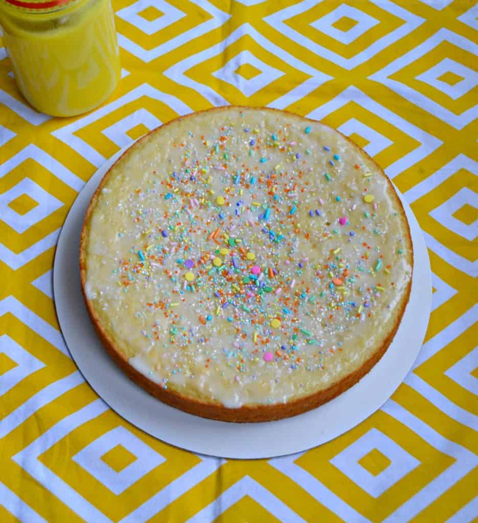 Lemon Yogurt Cake is perfect for breakfast or brunch