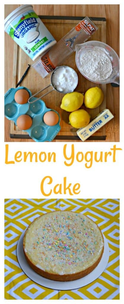 Everything you need to make this Lemon Yogurt Cake
