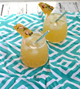 Spiced Pineapple Mule #SummerGrilling