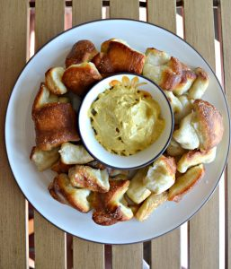 Soft Pretzel Monkey Bread #EasterBrunchWeek