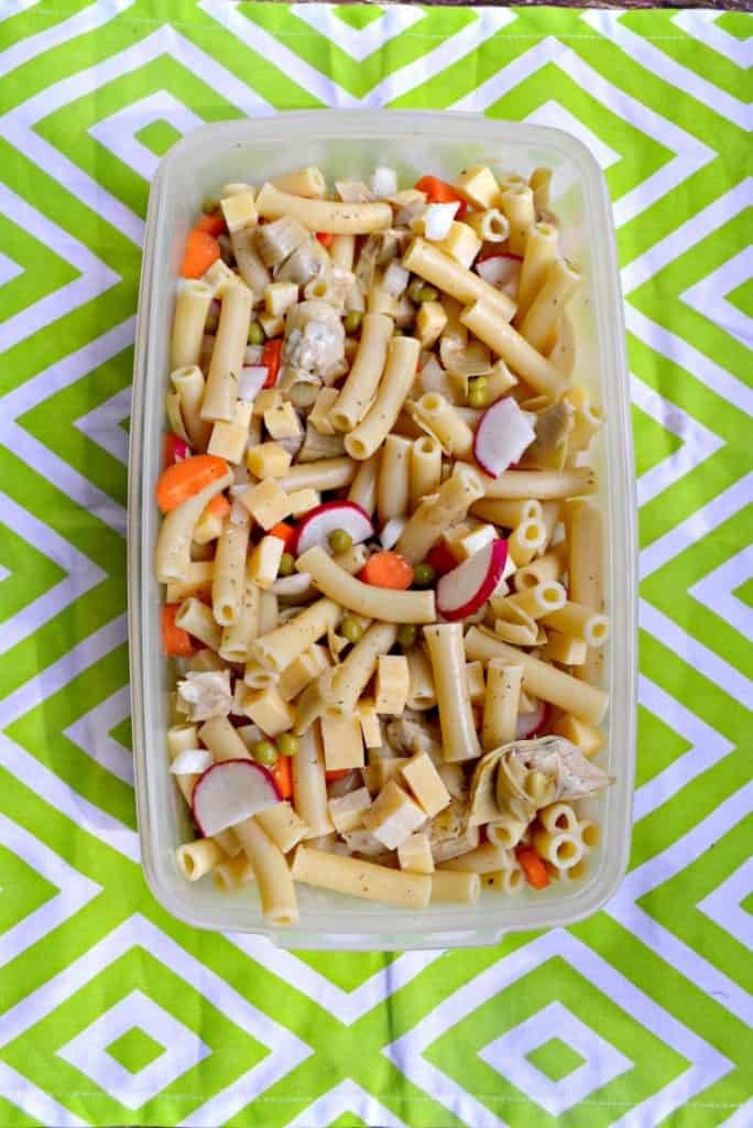 Get ready for spring with this Spring Pasta Salad!