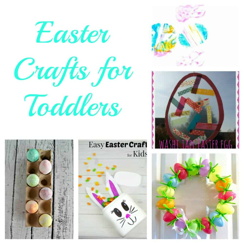 5 Easter Crafts perfect for Toddlers