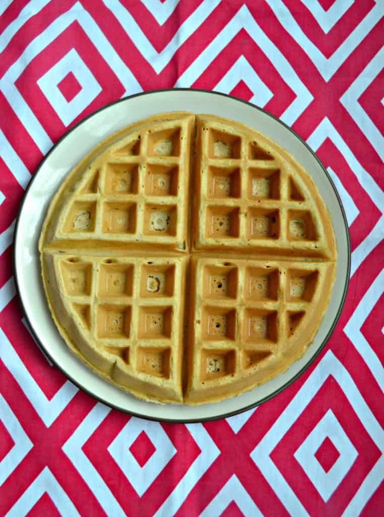 The perfect Vanilla Bean Waffle