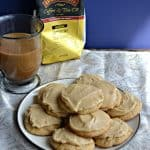 Grab a cup of coffee and one of these soft Frosted Brown Sugar Cookies