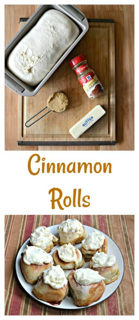 Everything you need to make Homemade Cinnamon Rolls