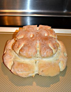 Cottage Loaf (Traditional English Bread)