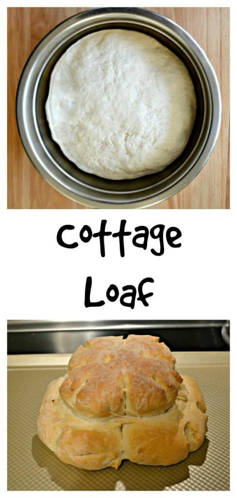 It's easy to make this fabulous British Cottage Loaf