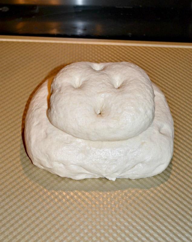 Traditional British Cottage Loaf