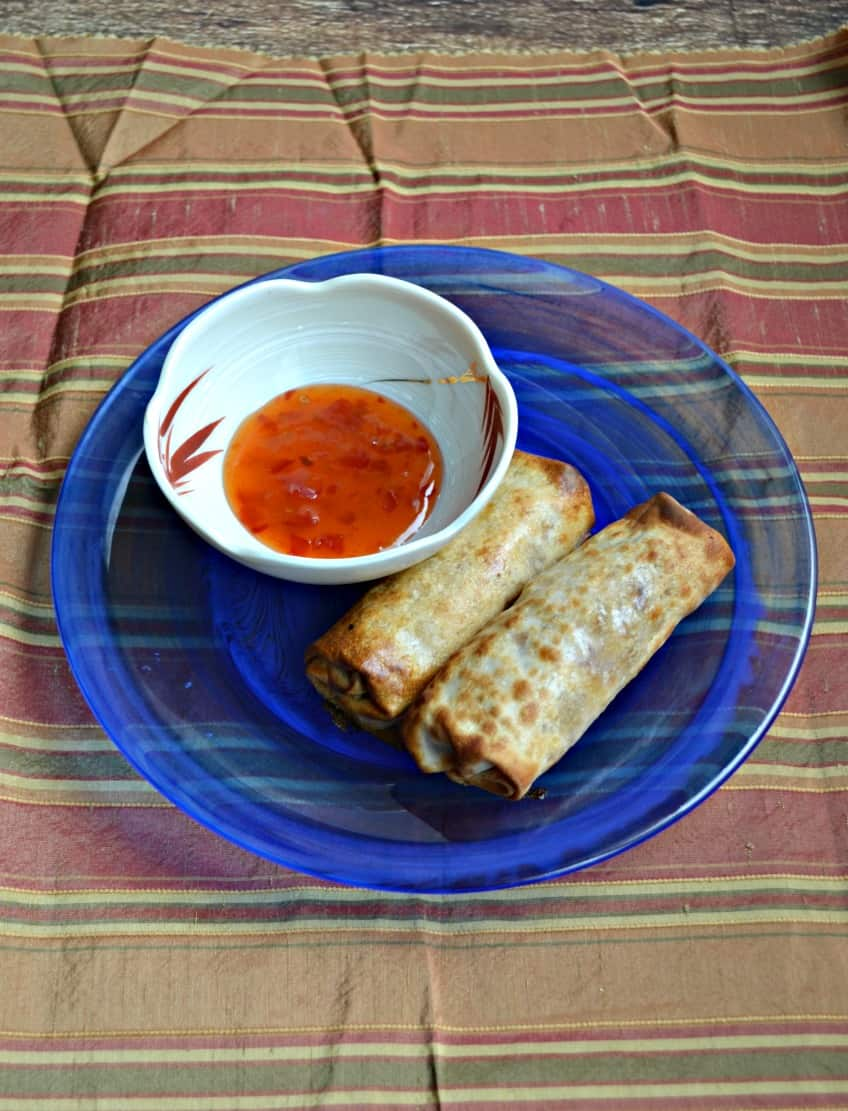 You'll never go back to store bought after you try my Crispy Pork Egg Rolls