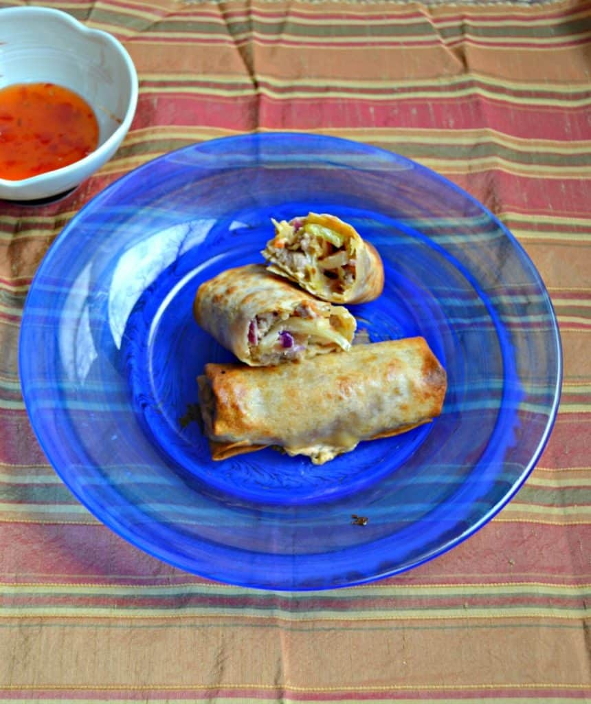 Crispy Pork Egg Rolls are now a staple in our house! Give them a try!