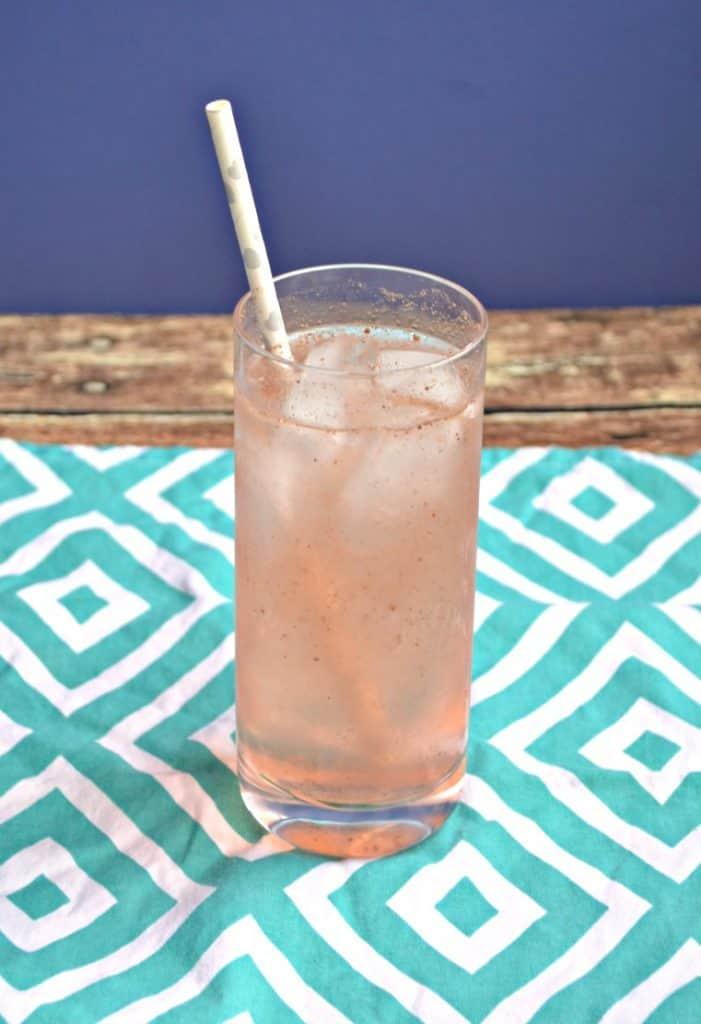 Sip on this Peach Guava Soda all summer long!