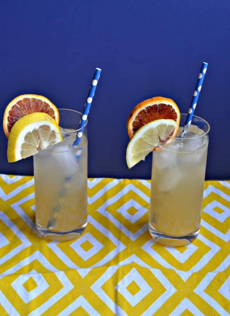 When it's hot outside grab a glass of this ice cold Pineapple Orange Lemonade!