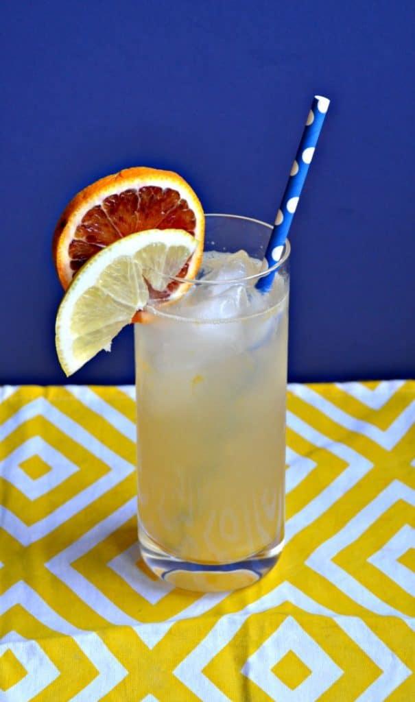 Sip on this refreshing Pineapple Orange Lemonade!