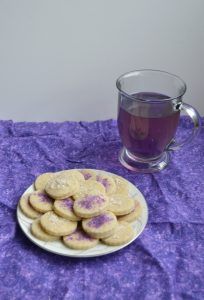 Blueberry Lavender Tea Cookies