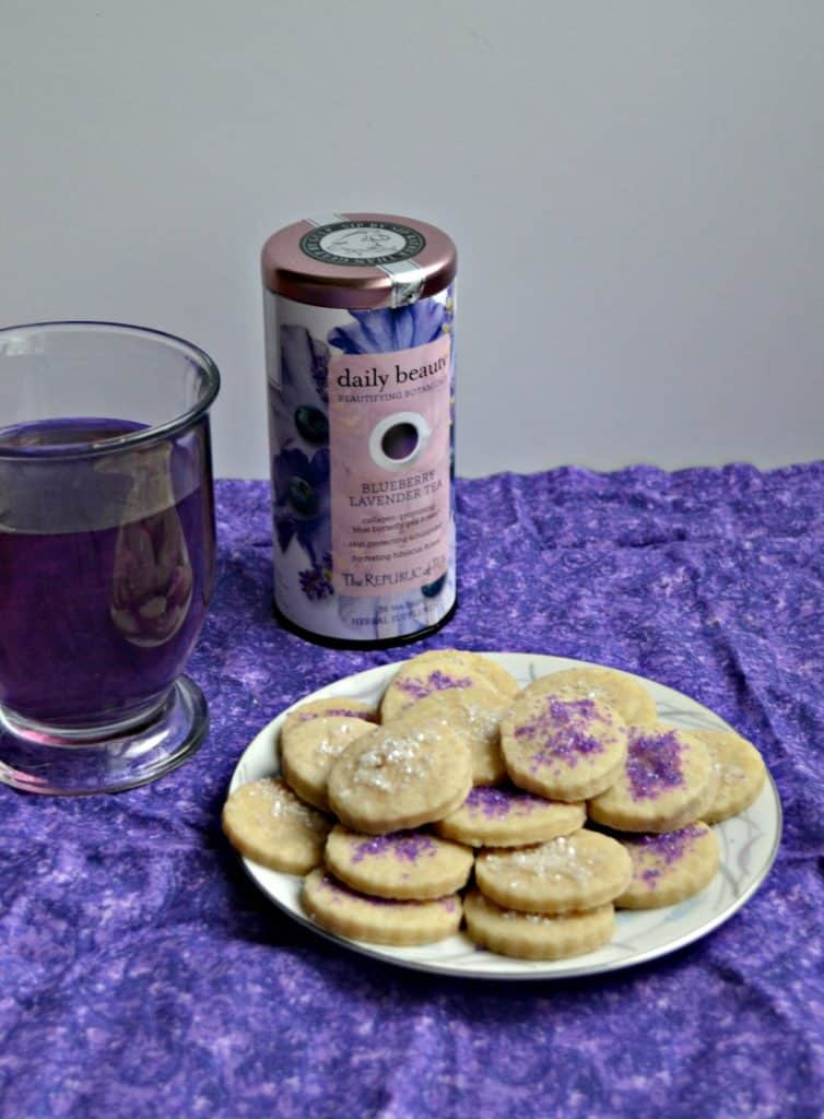 Having a tea party? Don't forget these lovely Blueberry Lavender Tea Cookies!