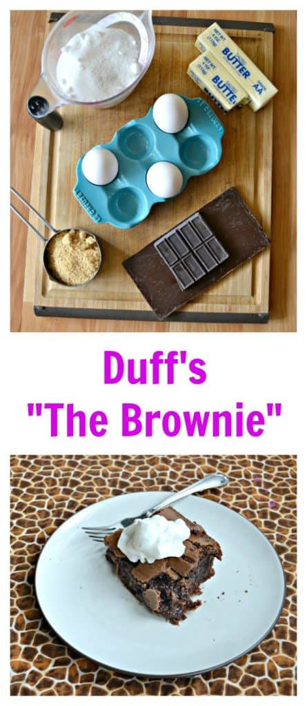 Everything you need to make a decadent Brownie