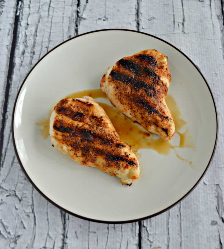 Kids and adults will love this BBQ Rubbed Grilled Chicken!