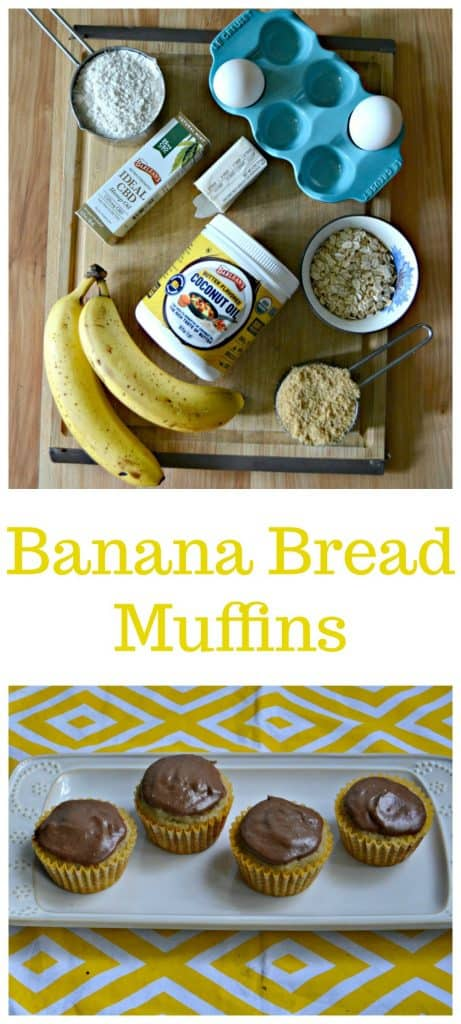 Everything you need to make healthier Banana Bread Muffins