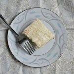 Quick and easy to make Cinnamon Roll Poke Cake