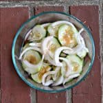 Easy Cucumber Onion Salad