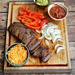 Grilled Steak Fajitas #SummerGrilling