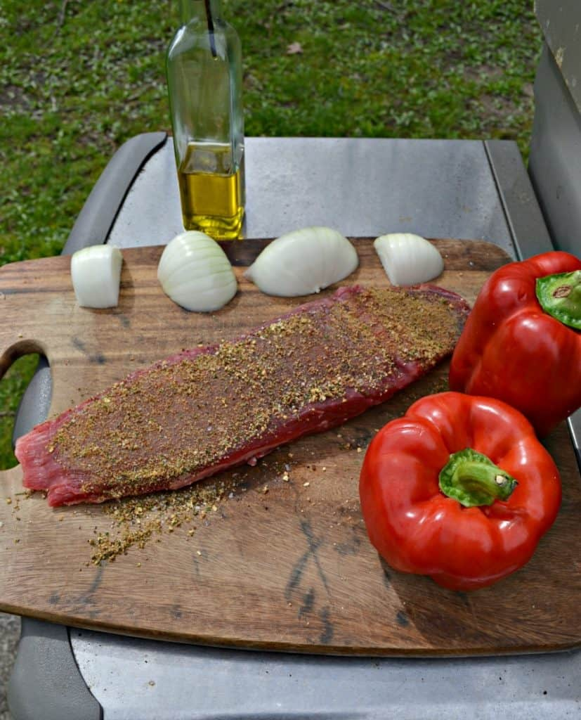 Grilling makes these Steak Fajitas even better!
