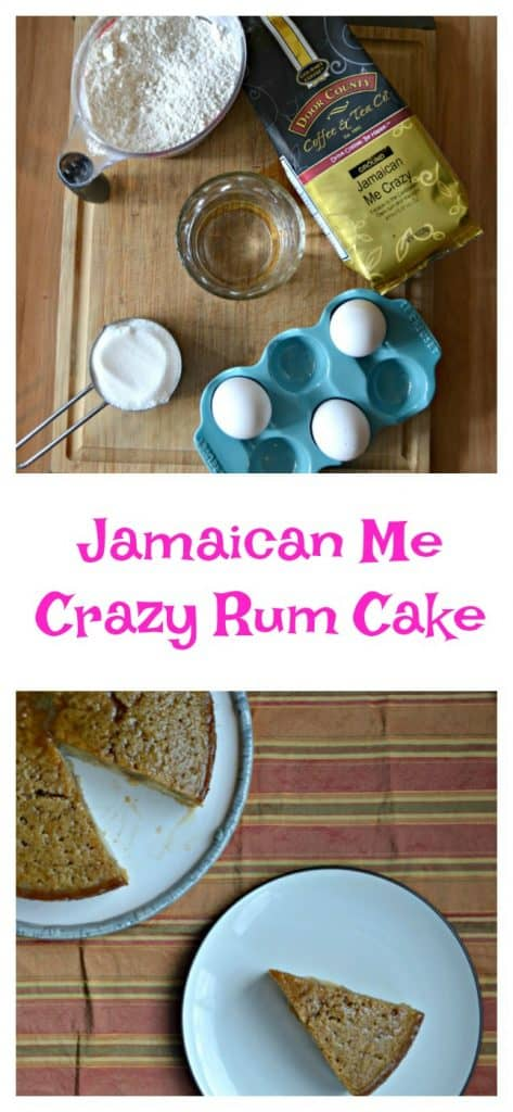 It's easy to make Jamaican Me Crazy Rum Cake