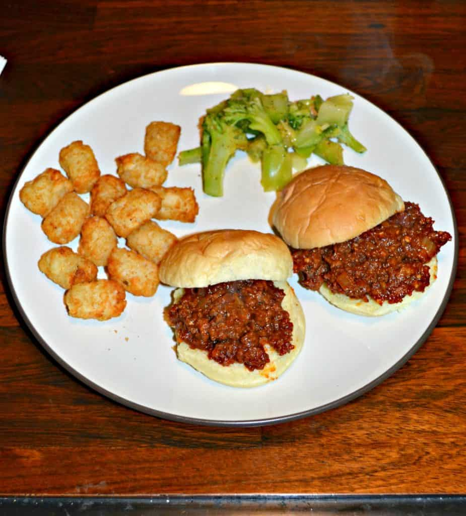 Classic Sloppy Joes with homemade sauce