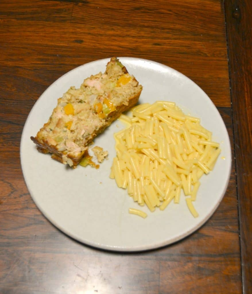 Pair Tuna Loaf with macaroni and cheese for an easy to make meal