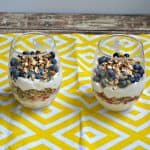 Honey Vanilla Yogurt Parfaits with Homemade Spiced Honey Granola