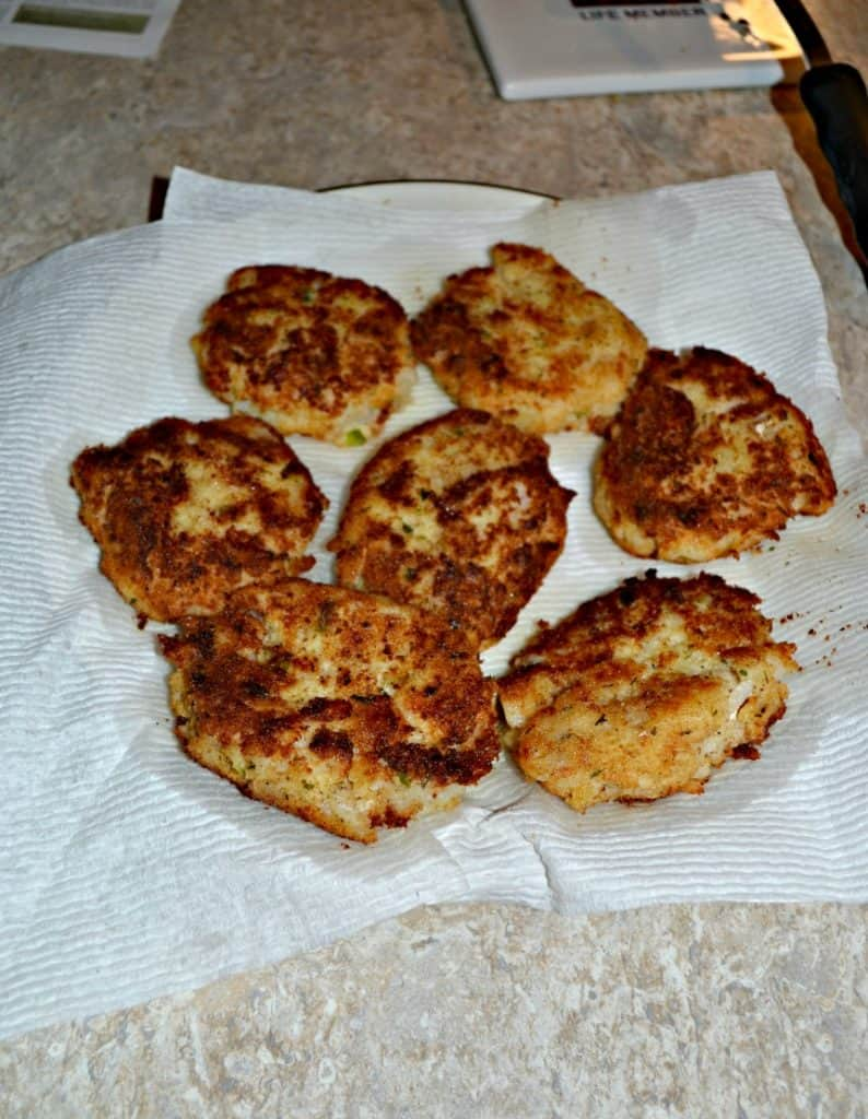 Cod and Potato Cakes are a fun way to make fish for dinner