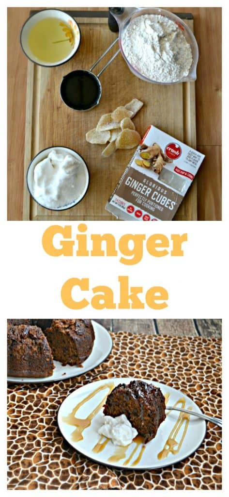 Everything you need to make a delicious ginger cake