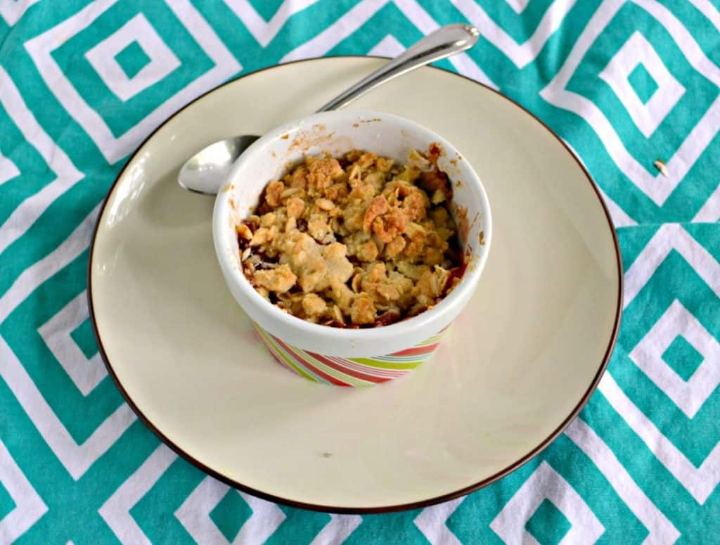 I can't get enough of the sweet and tart flavors in these Individual Plum Crisps