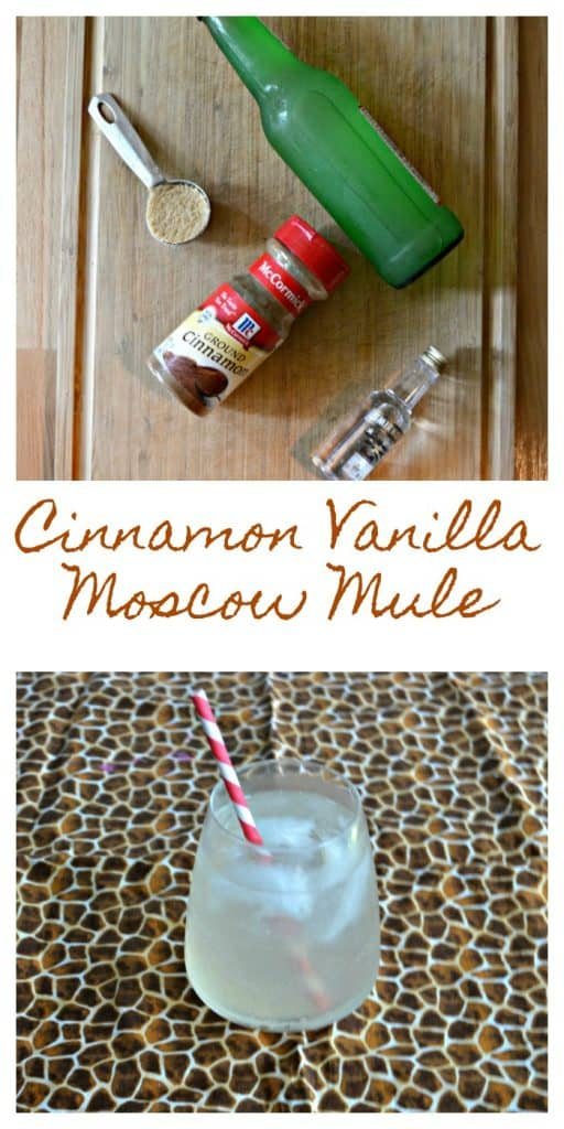 Everything you need to make a Cinnamon Vanilla Moscow Mule