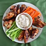Air Fryer Garlic Butter Ranch Wings