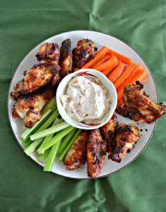 Air Fryer Garlic Butter Ranch Wings