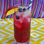 Blueberry Peach Lemonade