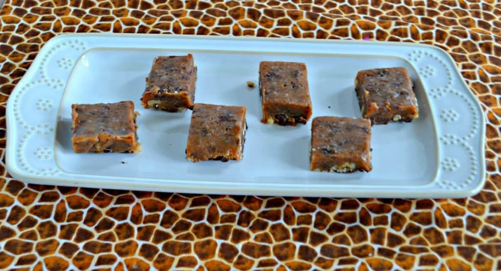 Want to make homemade candy? Give these Chocolate Walnut Caramels a try!