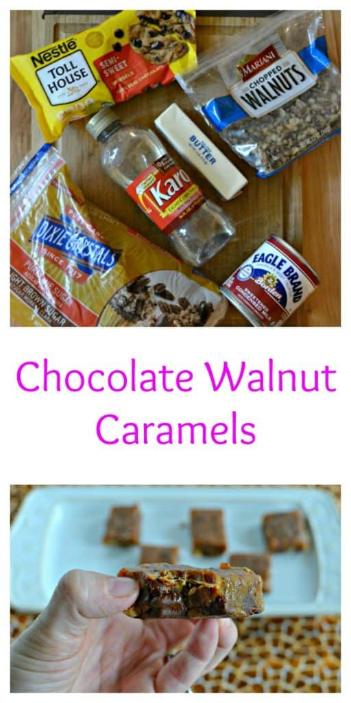 Everything you need to make Chocolate Walnut Caramels