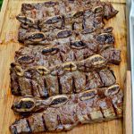 Beer and Lime Marinated Flanken-Style Short Ribs