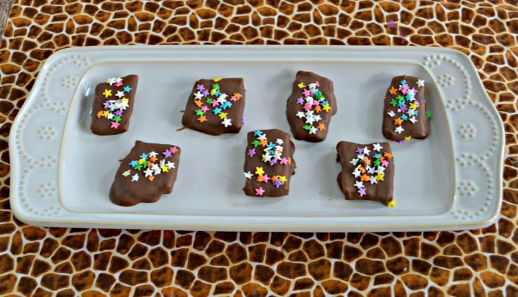 Chocolate Covered Honeycomb Candy
