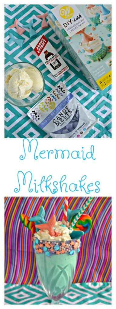 Mermaid Milkshakes will be the hit of any summer party