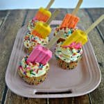 Lemon Popsicle Cupcakes #SummerDessertWeek