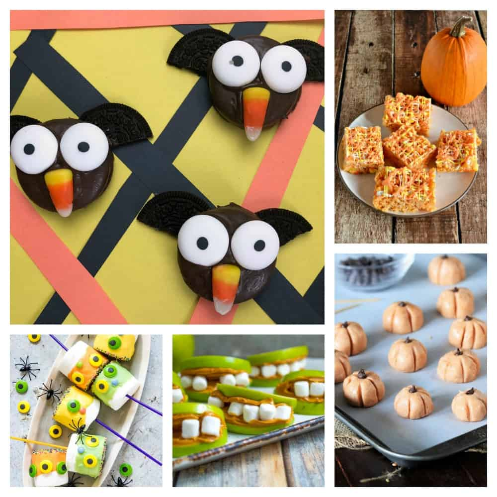 20 Fun Halloween treats toddlers can help make!