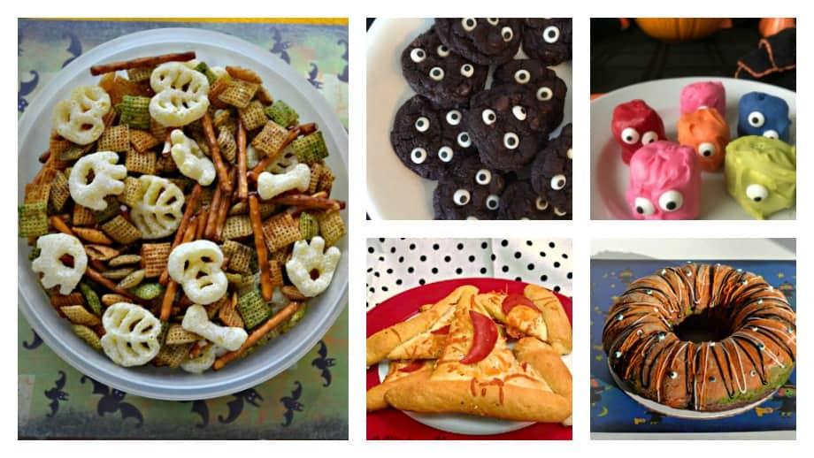 Sweets and Treats for Halloween that kids can help with!