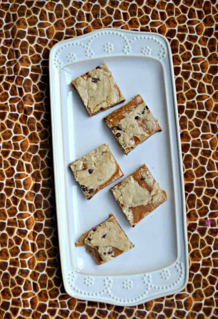 Looking for the ultimate lunchbox treat? Try these Salted Caramel Brown Butter Chocolate Chip Bars