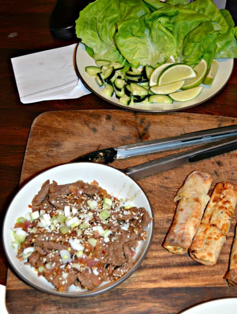 Just a few fresh ingredients make the best Beef Bulgogi Lettuce Wraps
